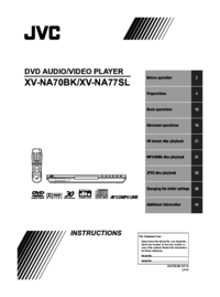 To view the document Jvc XV-NA70BK User Manual