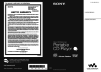 To view the document Sony D-NE20 User Manual