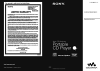 To view the document Sony D-NE319 User Manual