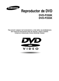 To view the document Samsung DVD-P255K User Manual