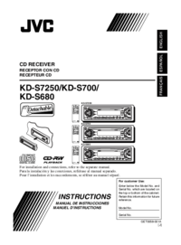To view the document Jvc KD-S7250 User Manual
