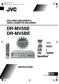 To view the document Jvc DR-MV5SE User Manual