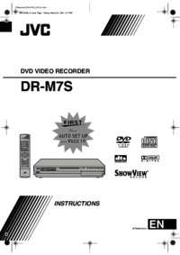 To view the document Jvc DR-M7S User Manual