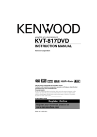 To view the document Kenwood Excelon KVT-817DVD User Manual