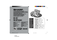 To view the document Sharp IM-MT899H User Manual