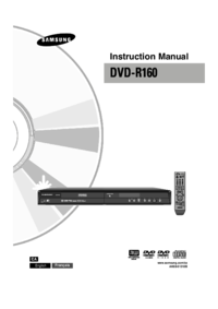 To view the document Samsung DVD-R160-XAC User Manual