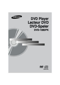 To view the document Samsung DVD-1080PK User Manual