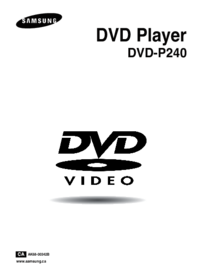 To view the document Samsung DVD-P240 User Manual