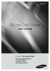 To view the document Samsung BD-P3600 User Manual