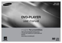 To view the document Samsung DVD-C450K User Manual