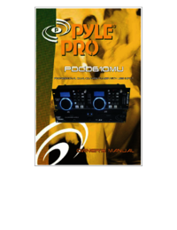 To view the document Pyle-audio PDCD610MU User Manual
