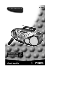 To view the document Philips AZ 1564 User Manual