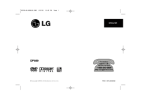To view the document Lg DP889 User Manual