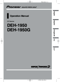 To view the document Pioneer DEH-1950 User Manual