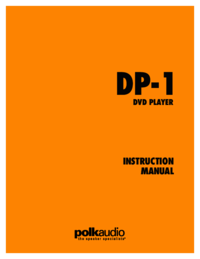 To view the document Polk-audio DP-1 User Manual