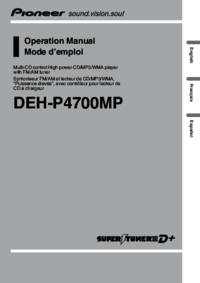 To view the document Pioneer DEH-P4700MP User Manual