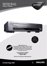 To view the document Philips DVD795SA User Manual
