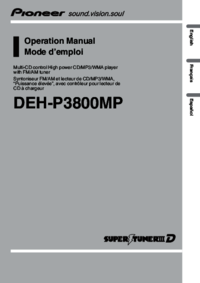 To view the document Pioneer DEH-P3800MP User Manual