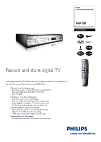 To view the document Philips DVDR7250H User Manual