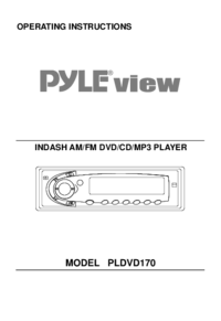 To view the document Pyle-audio PLDVD170 User Manual