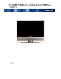 To view the document Polaroid FXM-2611C User Manual