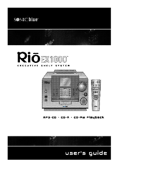 To view the document Sonic-blue Rio EX1000 User Manual