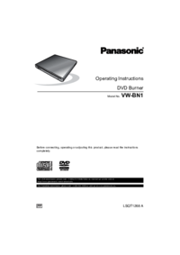 To view the document Panasonic VW-BN1 User Manual